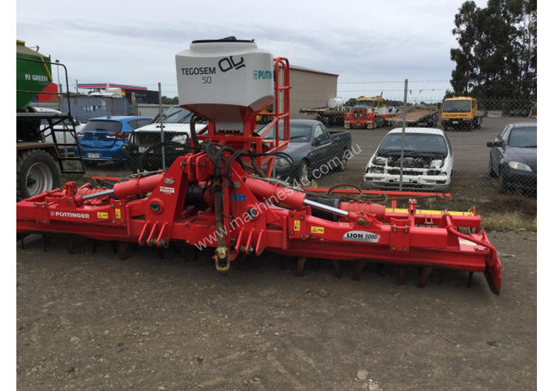 Pottinger Lion 5000 Power Harrows Tillage Equip