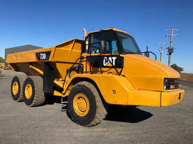 Caterpillar 730 Articulated Off Highway Truck - picture0' - Click to enlarge