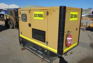 2012 Olympian GEP88-3 88 KVA Silenced Enclosed Generator (GS1066)