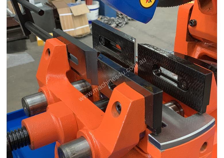 European Double Vice 350mm Coldsaw Now Available - Includes Stand - 240V or V