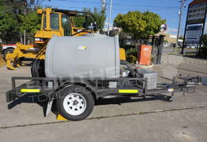 1200L Diesel fuel Trailer with Battery Kits TFPOLYDT