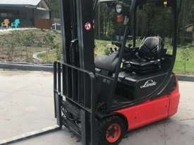 Linde E16C Electric Forklift - picture0' - Click to enlarge