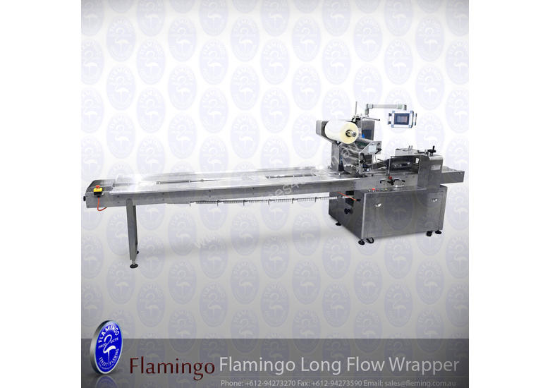 Flamingo Long Flow Wrapper (EFFFW-450)