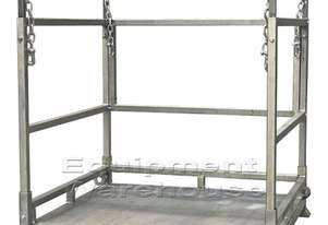 Bulk Bag Stand with Sheet Metal Base 1372 x 1250mm