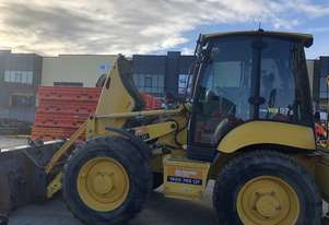 2008 Komatsu Backhoe WB97S in Good Condition  with 4550 Hours in