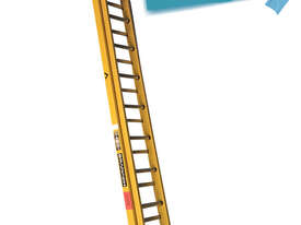 Branach Fiberglass Extension Ladder 4.6 to 7.6 Meter Industrial FED7.6 - picture0' - Click to enlarge