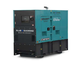 200 KVA Silenced Diesel Generator - picture0' - Click to enlarge
