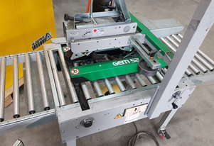CARTON TAPE SEALERS - GEM 52 Auto + GEM X350 Semi-Auto by COMARME 2017 Made in Italy Incl Compressor