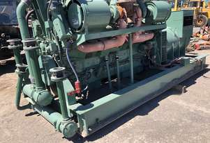 1800 KVA Detroit Diesel V16  149 NEWAGE STAMFORD GENSET with only 184Hrs Ex Australian Government