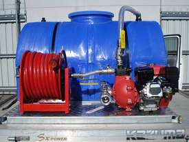 SPOTMASTER 750 LITRE FIRE FIGHTING SKID, SLIDE ON UNIT - picture0' - Click to enlarge