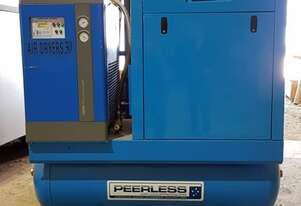 Peerless HQS-20C Oil Injected Screw Compressor