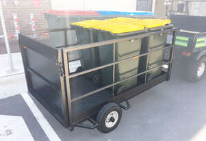 Trailer For 240/660/1100L - 2190x1200mm Internal- Steel