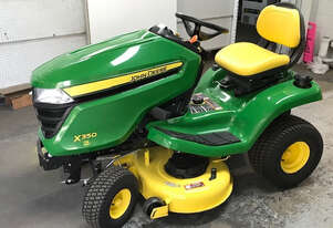 John Deere X350 Standard Ride On Lawn Equipment