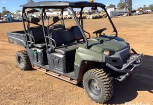2012 Polaris Ranger ATV, Green, 6 seater, Tilt tray,