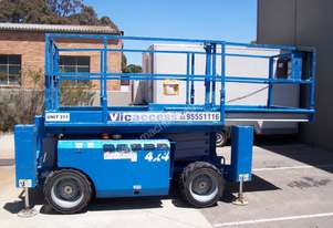 Genie Rough Terrain 26ft Scissor Lift - Diesel