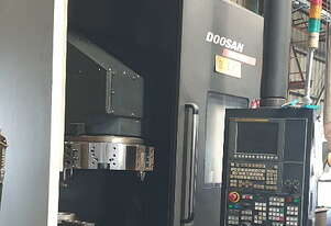 2013 Doosan Puma V550 CNC Vertical Lathe with 21