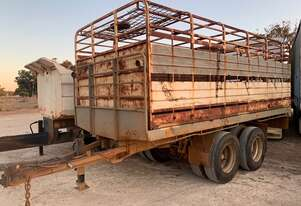 Trailer Pig Trailer With Cattle Crate SN875 GG12961