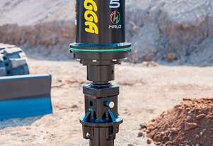 New Digga Halo PD5 Auger Drive with Hoses