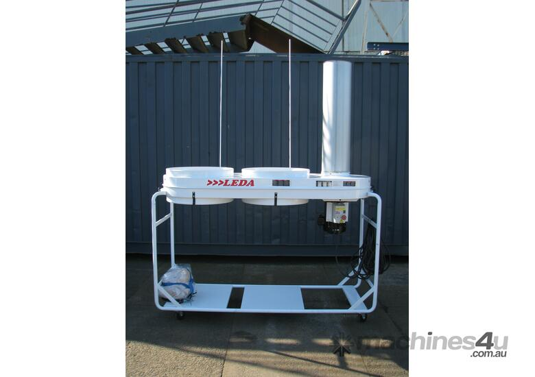 5HP Twin Bag Dust Extractor Collector - LEDA SF-005V