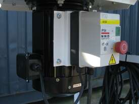 5HP Twin Bag Dust Extractor Collector - LEDA SF-005V - picture1' - Click to enlarge