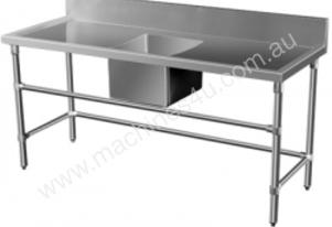 Bracyo SS-RL Single Bowl Stainless Steel Sink (700