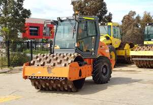 HAMM 3307P 7T PAD DRUM ROLLER WITH A/C CABIN AND 1750 HOURS