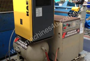 Champion skid mounted air compressor plant with Ka