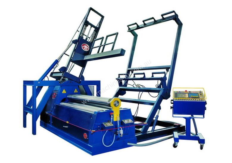4 Roll MG Plate Rolling Machines