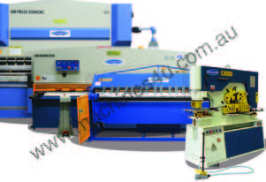 PRESSBRAKES, GUILLOTINES, PANBRAKES & PUNCH-SHEARS