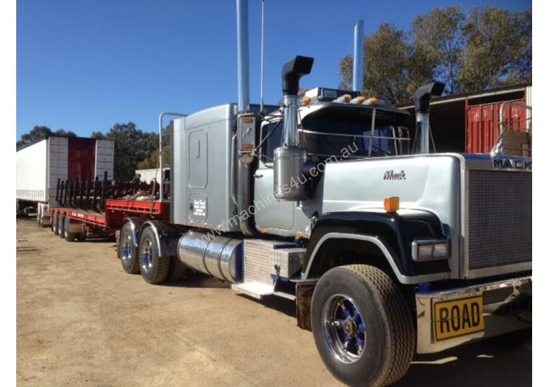 Used Diesel Trucks >> Used 1986 Mack SUPERLINER B-Double Truck in Brocklehurst, NSW