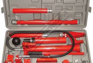 PBK-10T Hydraulic Panel Beating Kit 10 Tonne Ram 15 Piece