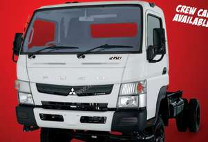 New Fuso Canter 4x4 FG Cab Chassis