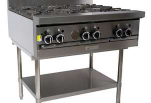 Garland GF36-6T Heavy Duty Restaurant Range with 6 open burners