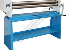 SRG-50G Manual Sheet Metal Curving Rolls 1270 x 1.5mm Mild Steel Capacity 3:1 Gear Drive Reduction R - picture3' - Click to enlarge