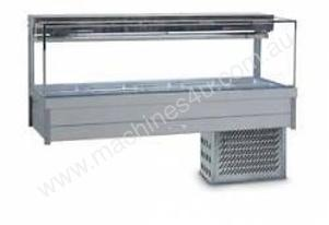 Cold Food Bar - Roband SRX25RD Cold Plate