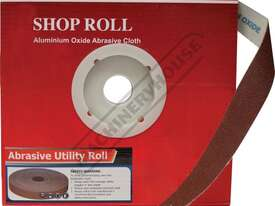 A8103 180 Grit Abrasive Rolls 25mm x 33 metres - picture0' - Click to enlarge