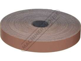 A8103 180 Grit Abrasive Rolls 25mm x 33 metres - picture2' - Click to enlarge