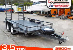 3.5 TON PLANT TRAILER 3500kg / 1860x4000mm Floor