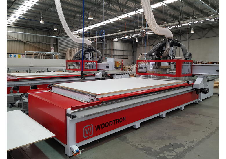 *NESTING WOODTRON 3618 RAPID AUTO LABELLING* RENT FOR LESS THAN $30 P/HOUR