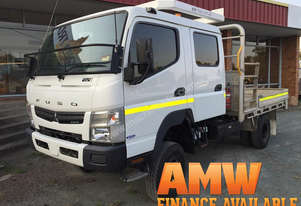 2013 Fuso Canter Dual Cab Tray Truck