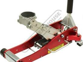 ARMARJ2000 Professional Hydraulic Trolley Jack - Alloy 2000kg (2 Tonne) Racing Jack 97 ~ 490mm Lift  - picture0' - Click to enlarge
