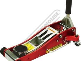 ARMARJ2000 Professional Hydraulic Trolley Jack - Alloy 2000kg (2 Tonne) Racing Jack 97 ~ 490mm Lift  - picture3' - Click to enlarge
