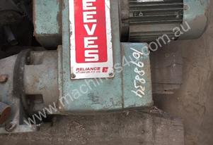 Geared Variable Speed Drive Electric Motor #G