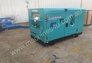 Diesel Airman Screw Compressor - PDS100 - 100 CFM