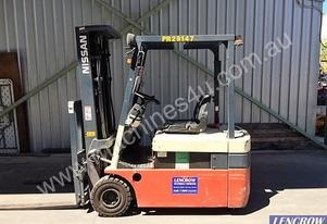 Nissan Forklift 3 Wheel Electric Forklift