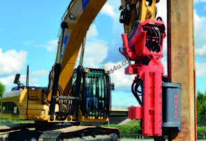 MOVAX SG-40 EXCAVATOR MOUNT PILE DRIVER (17-21T)