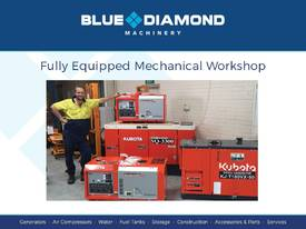 10 KVA Blue Diamond Generator 240V Kubota - picture16' - Click to enlarge