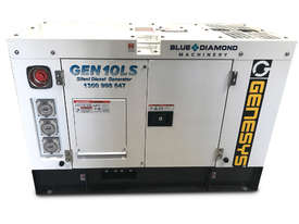 10 KVA Blue Diamond Generator 240V Kubota - picture10' - Click to enlarge