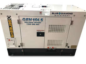 10 KVA Blue Diamond Generator 240V Kubota - picture14' - Click to enlarge