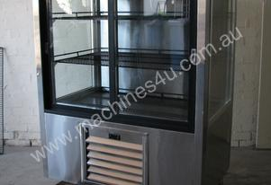 Commercial Shop Stainless Glass Door Fridge - 500L
